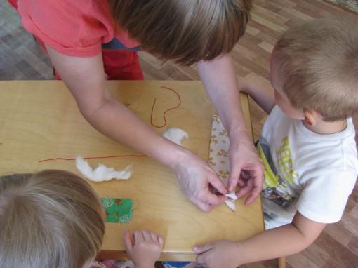 Хотим научиться делать кукол из лоскутов!